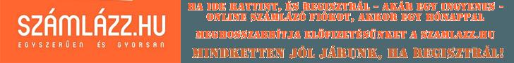 Ajánljuk önnek is a szamlazz.hu online számlázót