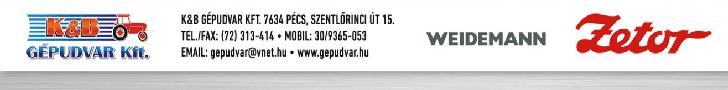 k-KÖNYVELŐZÓNA partner: K&B Gépudvar Kft.
