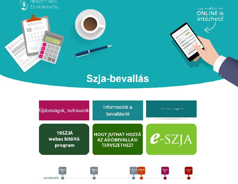 e-SZJA bevallás 2019